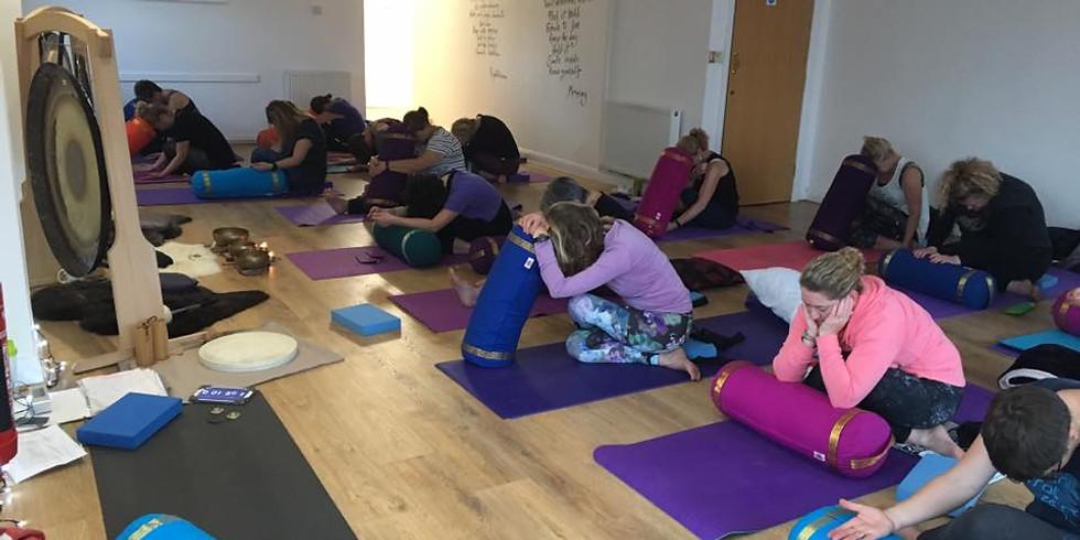 Yin Yoga and Gong Bath, Source Yoga Studio