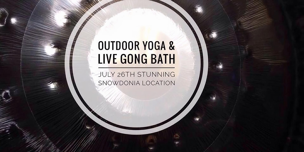 Outdoor Yoga and Gong Bath