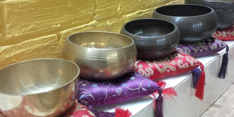 Restorative Yoga and Gong Bath