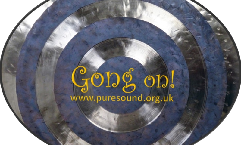 Gong on! Car sticker