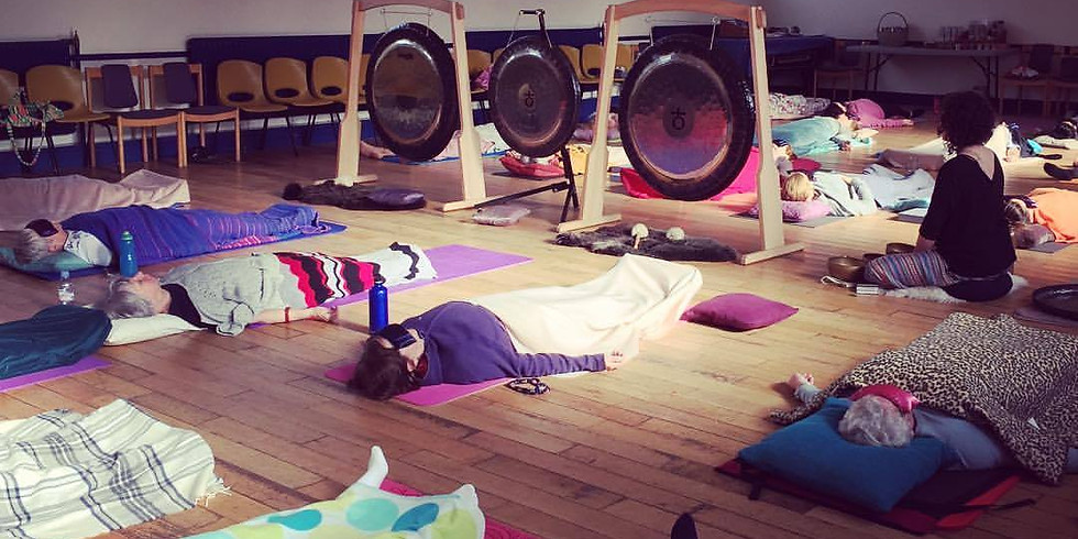 Spring Yoga and Gong Bath