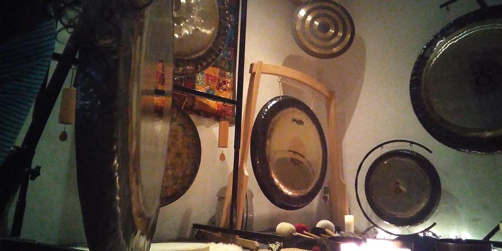 Wednesday Evening Gong Bath (Online via Zoom)