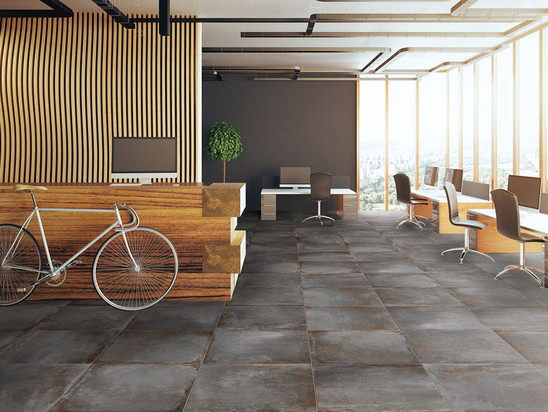 Spectra collection from Paramount Tile in the color Anthracite