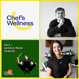 CHEF's WELLNESS IS BACK! For our 1st edi