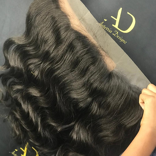 Raw Cambodian Body Wave Frontal (Transparent)