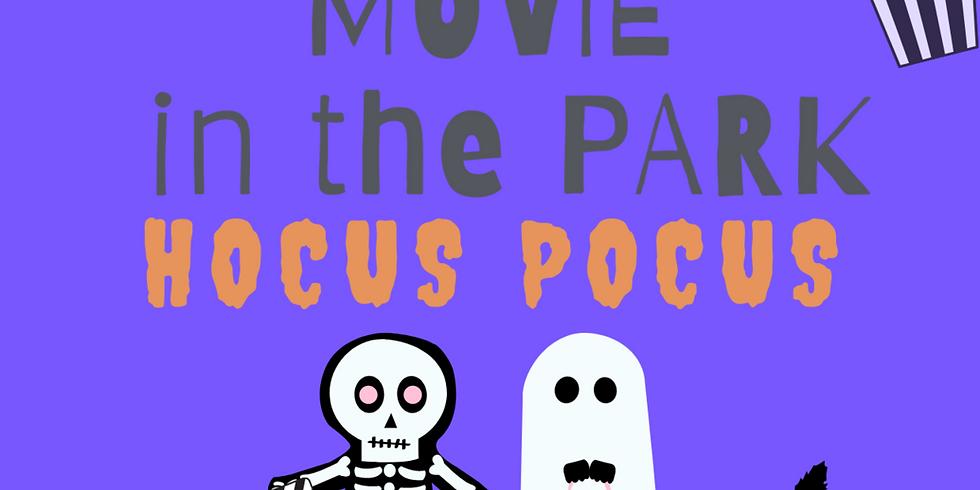 Movie in the Park - This month: Hocus Pocus