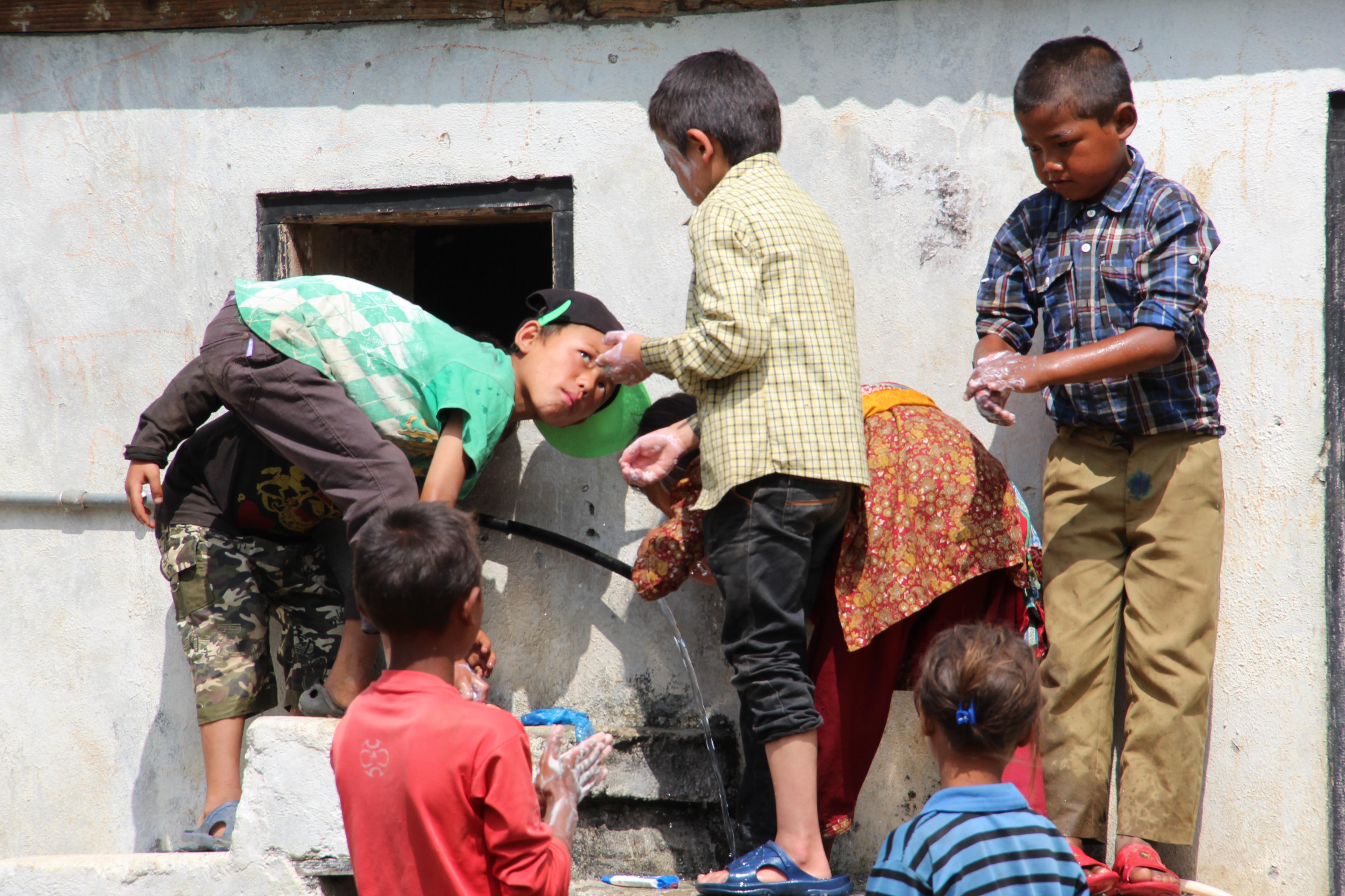 Refugee Camp Sanitation Project