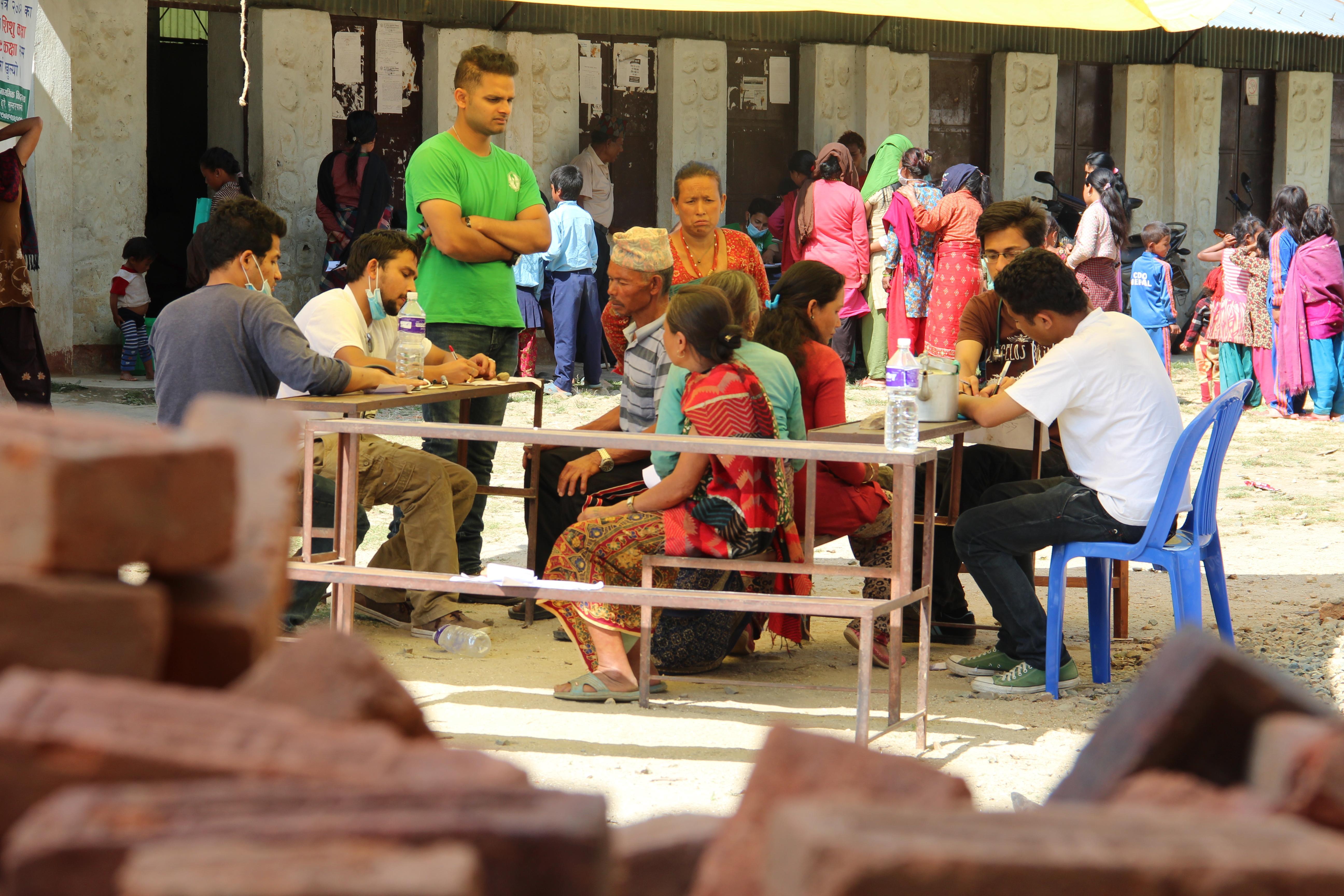 Refugee Health Camp