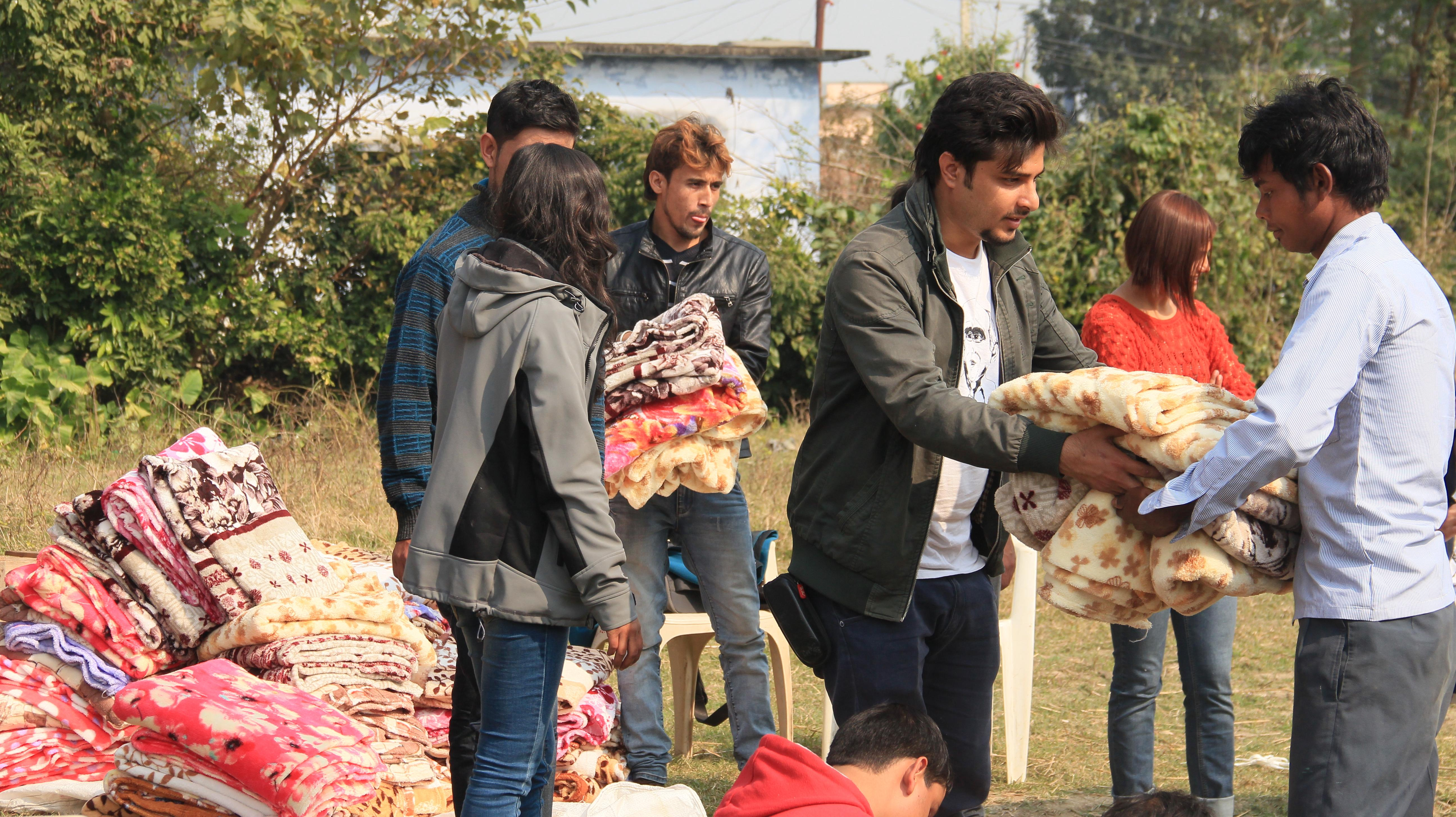 Earthquake Relief Project