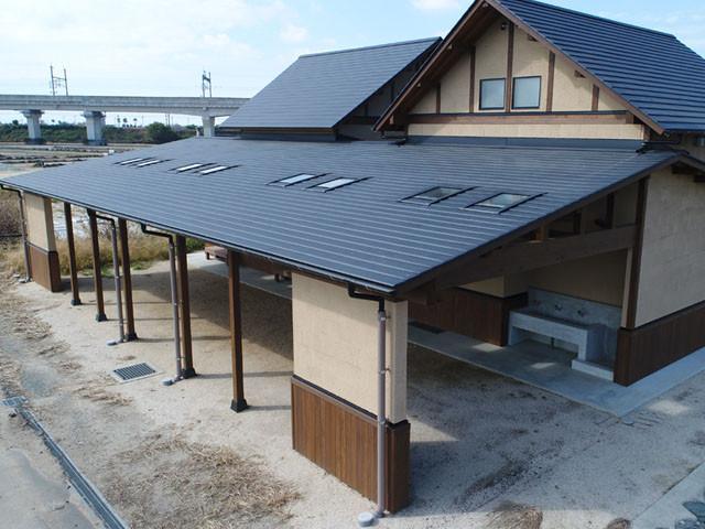筑後広域公園 体験エリア 茶畑トイレ新築工事