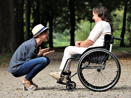 Five Tips for Communicating and Interacting with Someone Who Has a Disability