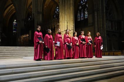Cathedrale de Metz, 8 mars 2020
