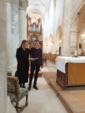 Dimanche 4 octobre 2020 à 11h : dans le cadre de XIIIe Festival d'Orgue de Champcueil : Katerina et Maureen