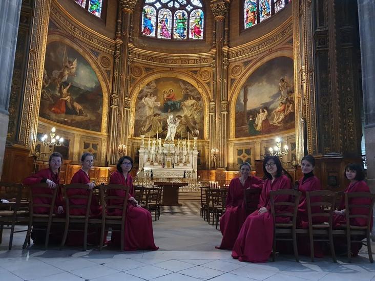 Chapelle de la Vierge, Saint-Eustache, Paris