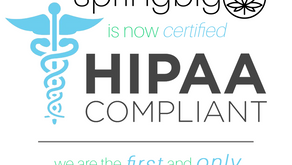 springbig becomes first cannabis marketing software company to be HIPAA certified.