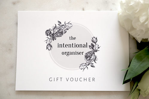 Gift Voucher for an In-home Professional Organisation Session