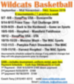 2019 Wildcats Tournament Schedule.PNG