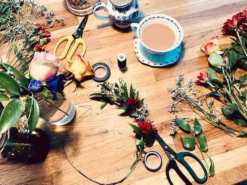 Flower Crown Workshop!