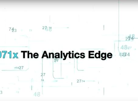 The Analytics Edge MOOC is Back!