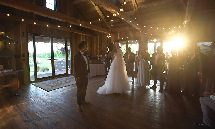 Wedding at Winery at Bull Run: Kenyetta and Melissa