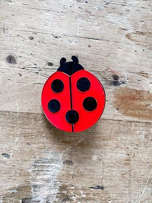 Lady Bug Brooch