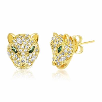 Baby Jaguar Stud Earring