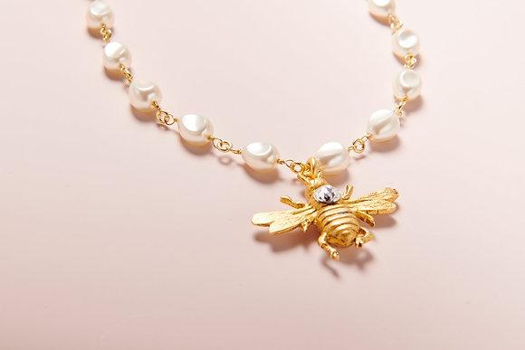 """18"""" Petite Baroque Bumble Necklace"""