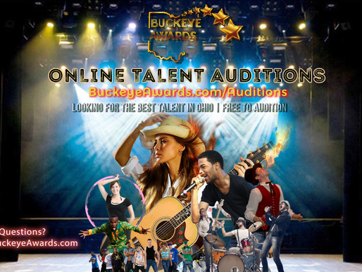 Online Talent Auditions are now OPEN!