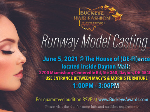 Runway model casting call!