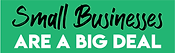 Small businesses are a big deal logo