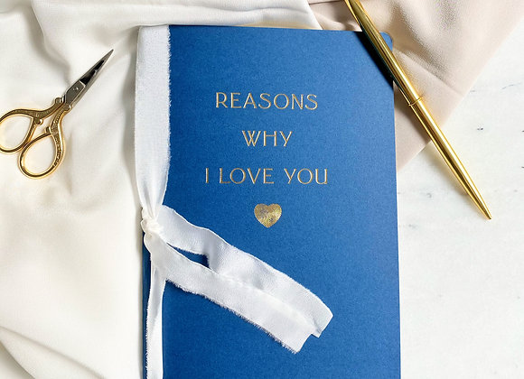 Reasons Why I Love You Defter -In the Navy