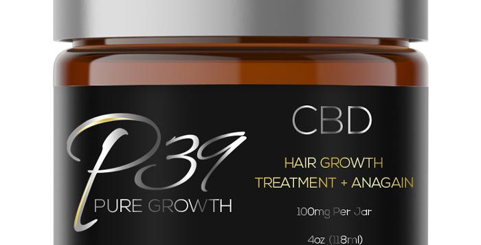 CBD Hair Growth Treatment + Anagain - 100mg
