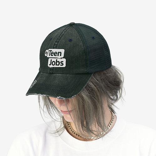 MyTeenJobs Unisex Embroidered Trucker Hat