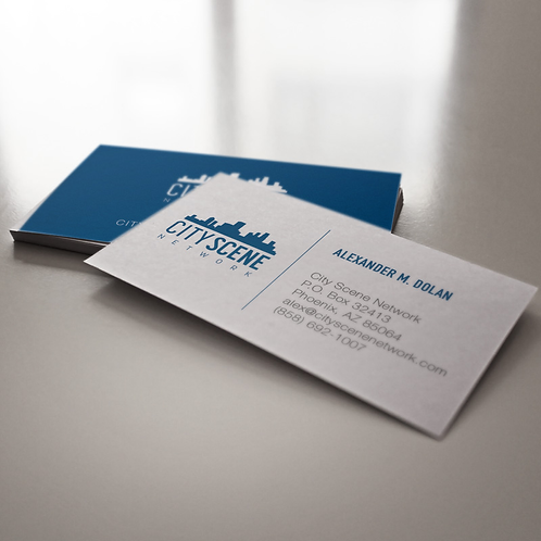 City Scene Business Cards