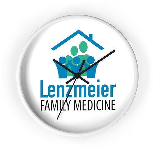 Lenzmeier Family Medicine Wall clock
