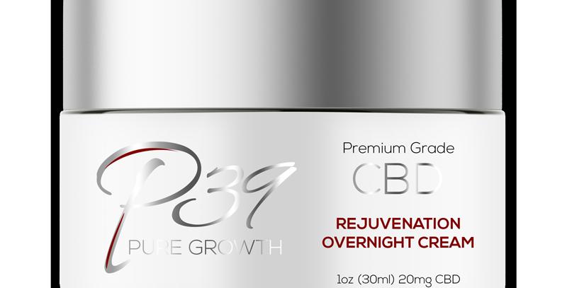 CBD Rejuvenation Overnight Cream - 20mg