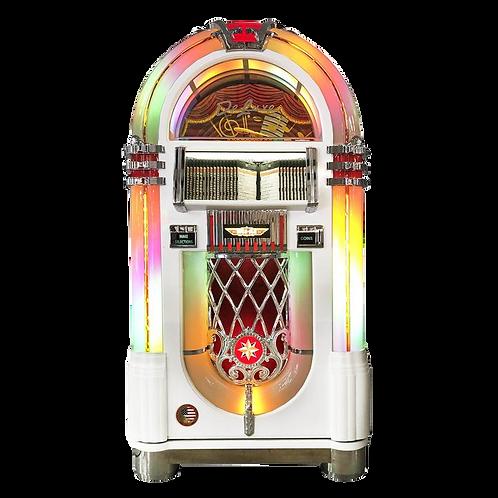 Gloss White Bubbler CD Jukebox