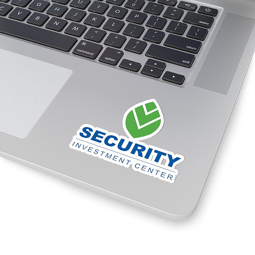 Security Investment Kiss-Cut Stickers