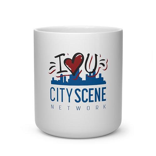 City Scene I Heart You Mug