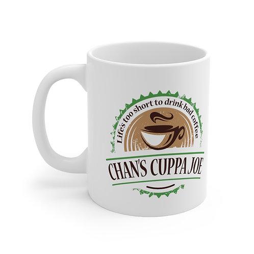 """""""Chan's Cuppa Joe"""" Mug 11oz"""