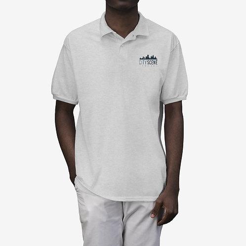City Scene Men's Polo Shirt