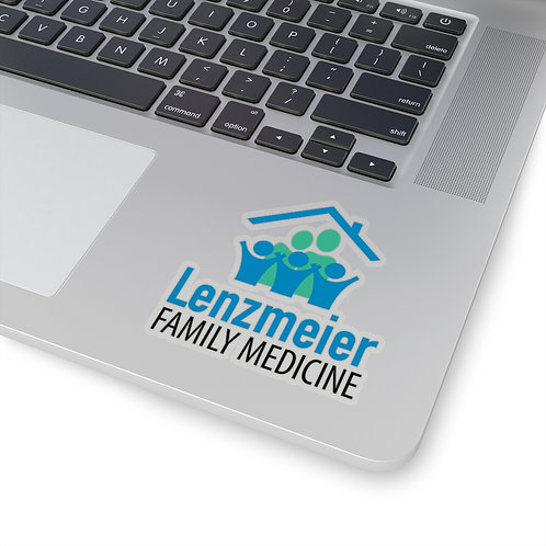 Lenzmeier Family Medicine Kiss-Cut Stickers