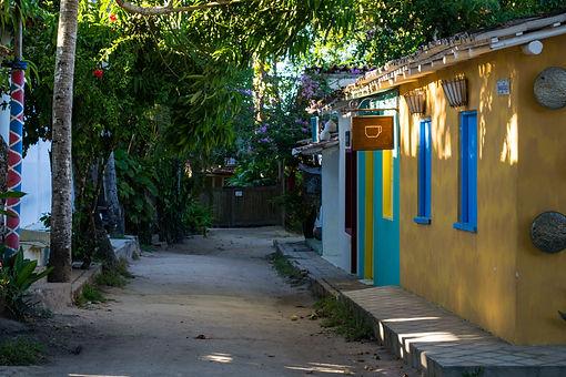 Trancoso, Bahia/Brazil historic city cen