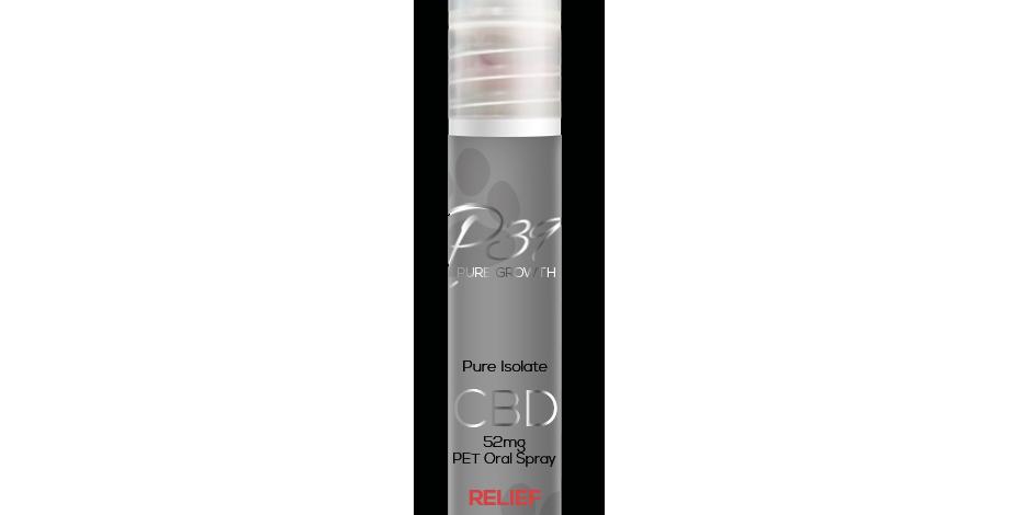 """CBD Pet Oral Spray """"RELIEF"""" - 52mg"""