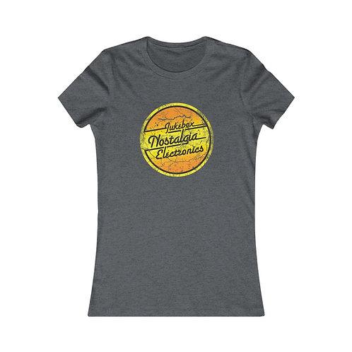 Distressed Nostalgia Logo Women's Favorite Tee