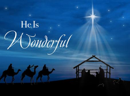 He is Wonderful