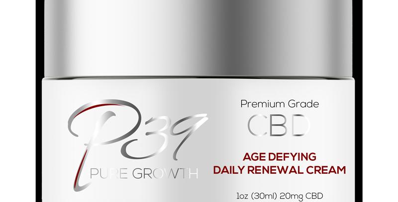 CBD Age Defying Daily Renewal Cream - 20mg