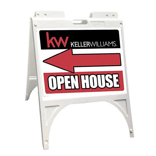 Keller Williams Sidewalk Sign