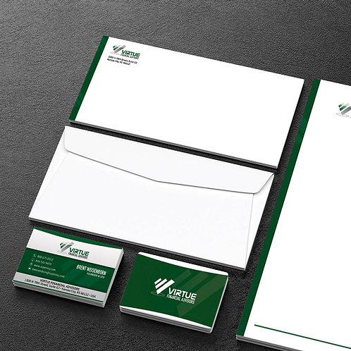 Virtue Financial #10 Envelope