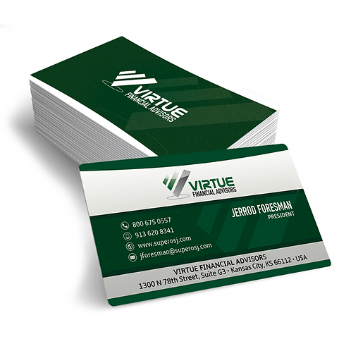 Virtue Financial Business Cards